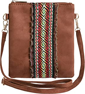 Crossbody Purse Jacquard Lace Women Handbag Small Crossbody