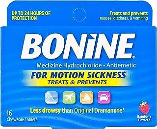 Bonine Motion Sickness Tablets-Raspberry-16 ct., Multicolor (27516)