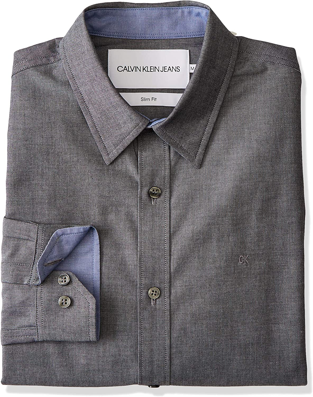 Calvin Klein J30j312797 Chambray Slim 099 - Camisa