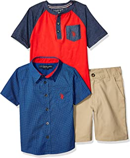 Boys Sleeve, T-Shirt and Short Set