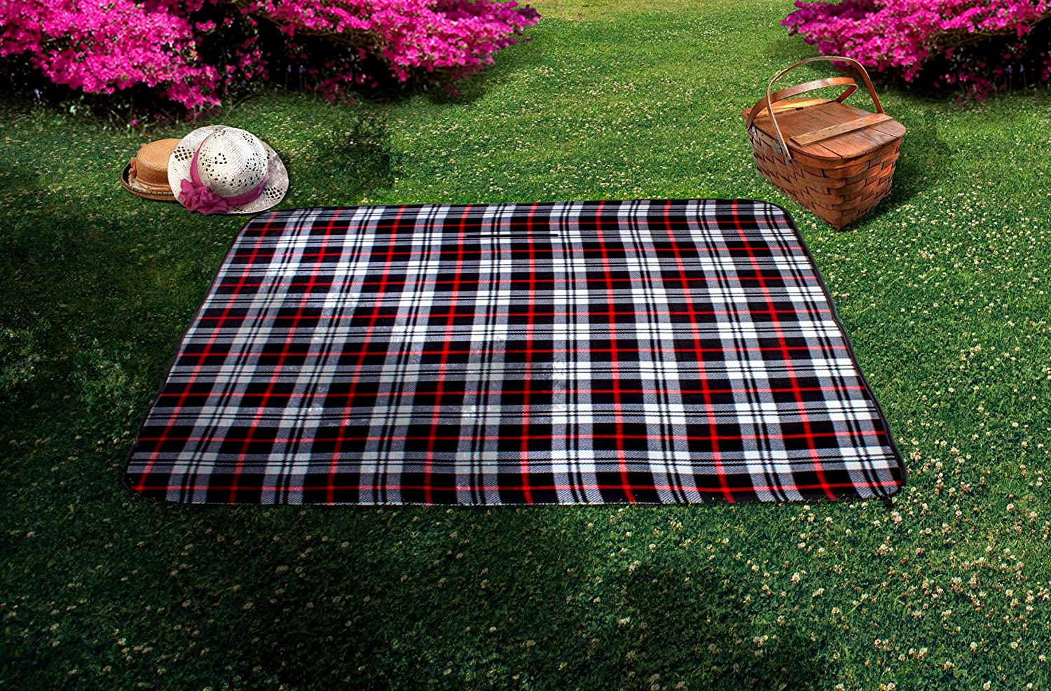 mperial Home All Purpose Picnic Blanket
