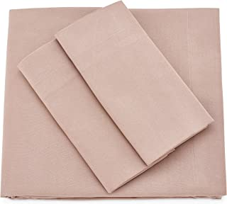 Cosy House Collection Premium Bamboo Sheets - Deep Pocket Bed Sheet Set - Ultra Soft & Cool Bedding - Hypoallergenic Blend from Natural Bamboo Fiber - 4 Piece - Full, Taupe