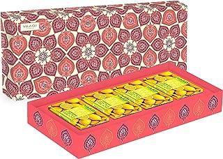 Lemon Basil Soap in Gift Box Set - Pack of 4 X 75 gms - 10.6 Ounces - Vaadi Herbals