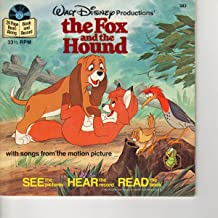 The Fox and the Hound with Songs from the Motion Picture #383 (see the Pictures Hear the Record Read the book)