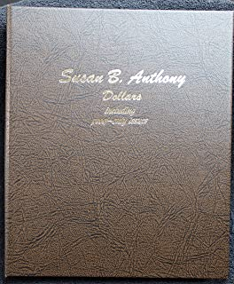 Complete Set Susan B Anthony (SBA) Dollars - 1979-1999 PDS in Dansco Album - All Key Dates 18-coins Beautiful Proofs along with Brilliant Uncirculated coins