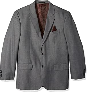 Men's Big and Tall Single Breasted Modern Fit 2 Button Notch Lapel Suit Separate Jacket