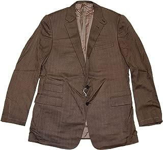 RALPH LAUREN Polo Purple Label Mens Brown Cashmere Blazer Sport Coat 44L