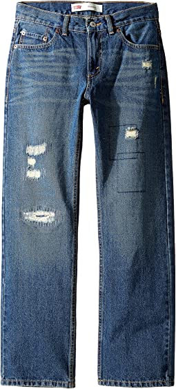 Levi's® Kids - Regular Fit Rip & Repair Jeans (Big Kids)