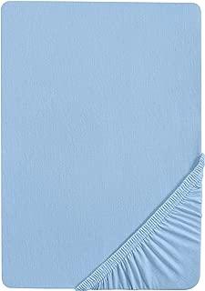 Beige, 1 Piazza 90x200 APLUS1 Lenzuolo con Angoli 100/% Cotone Max Misure