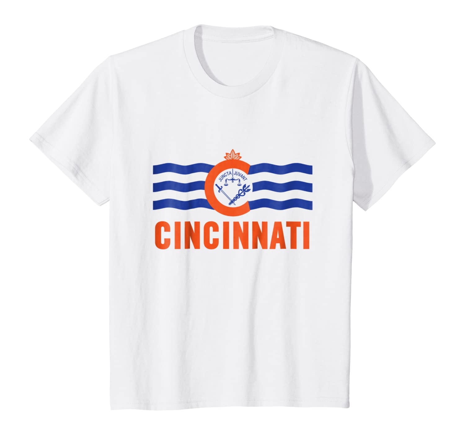 FC Shirt FC Tshirt Cincinnati Soccer Shirt Cincy Flag