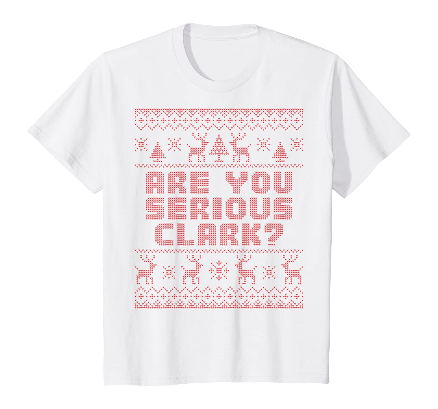 Amazon Com Are You Serious Clark Christmas Vacation Womens Pajamas T Shirt Clothing