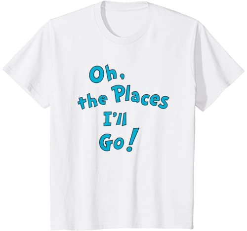 Kids Dr. Seuss Oh, The Places I'll Go