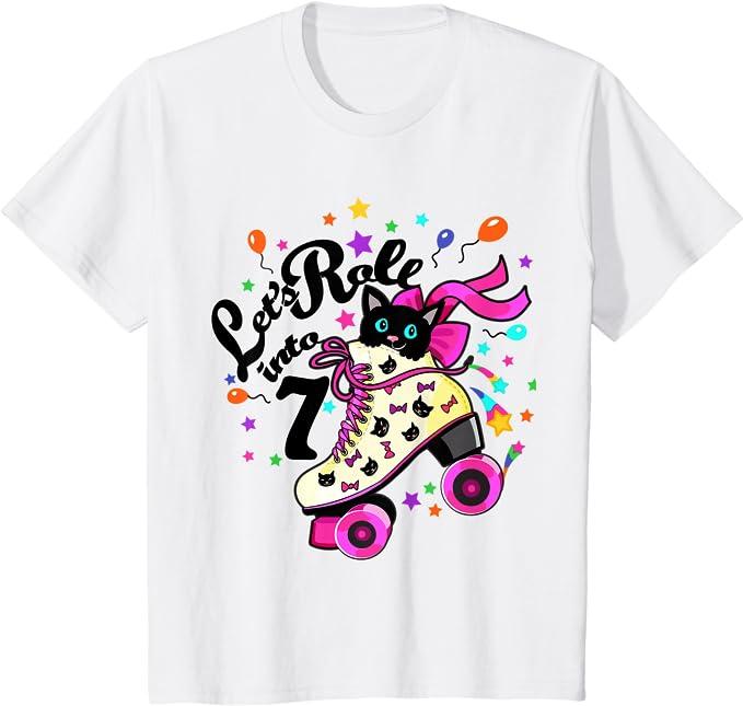 Eat Sleep Rollerblade T-Shirt Rollerskate Kids T-Shirt sizes 1//2yrs to 11//12 yrs