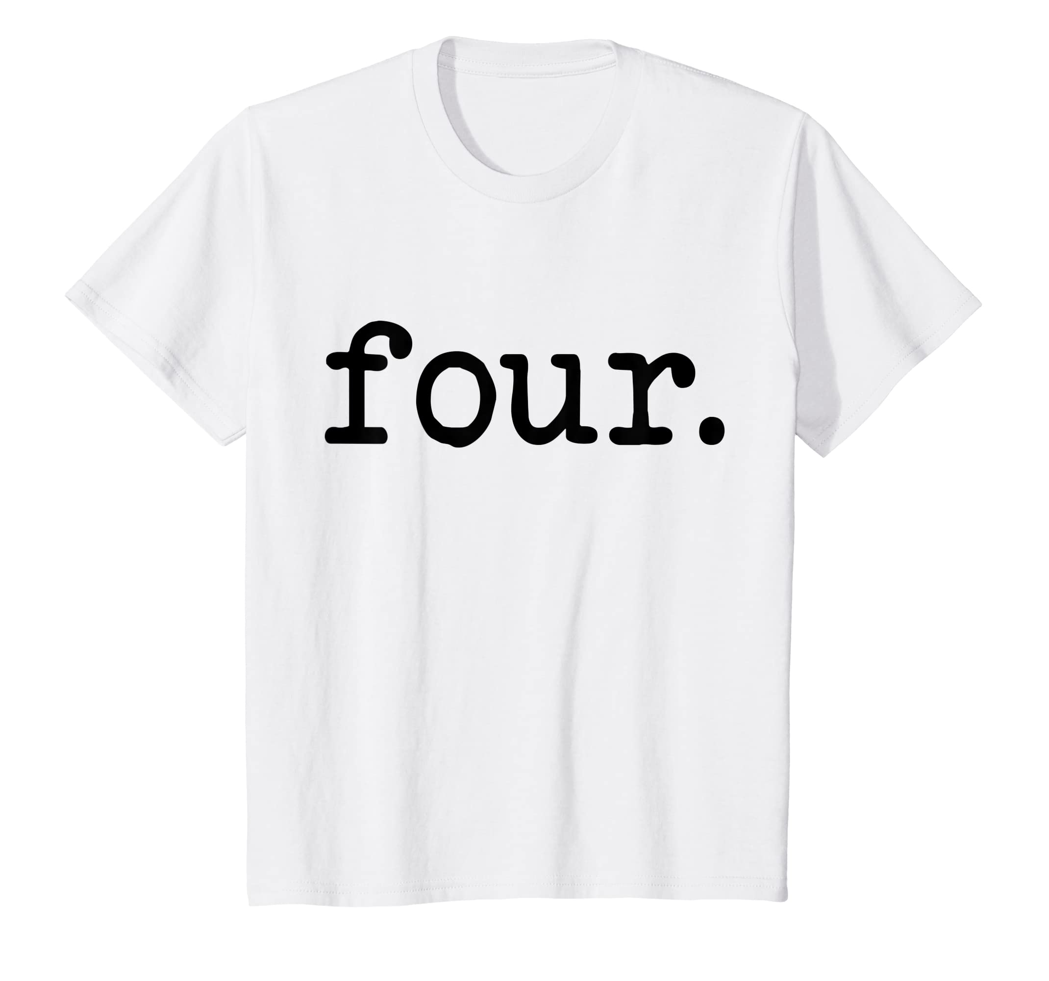 Amazon 4 Years Old Four Fourth Birthday Shirt For Boys And Girls Clothing