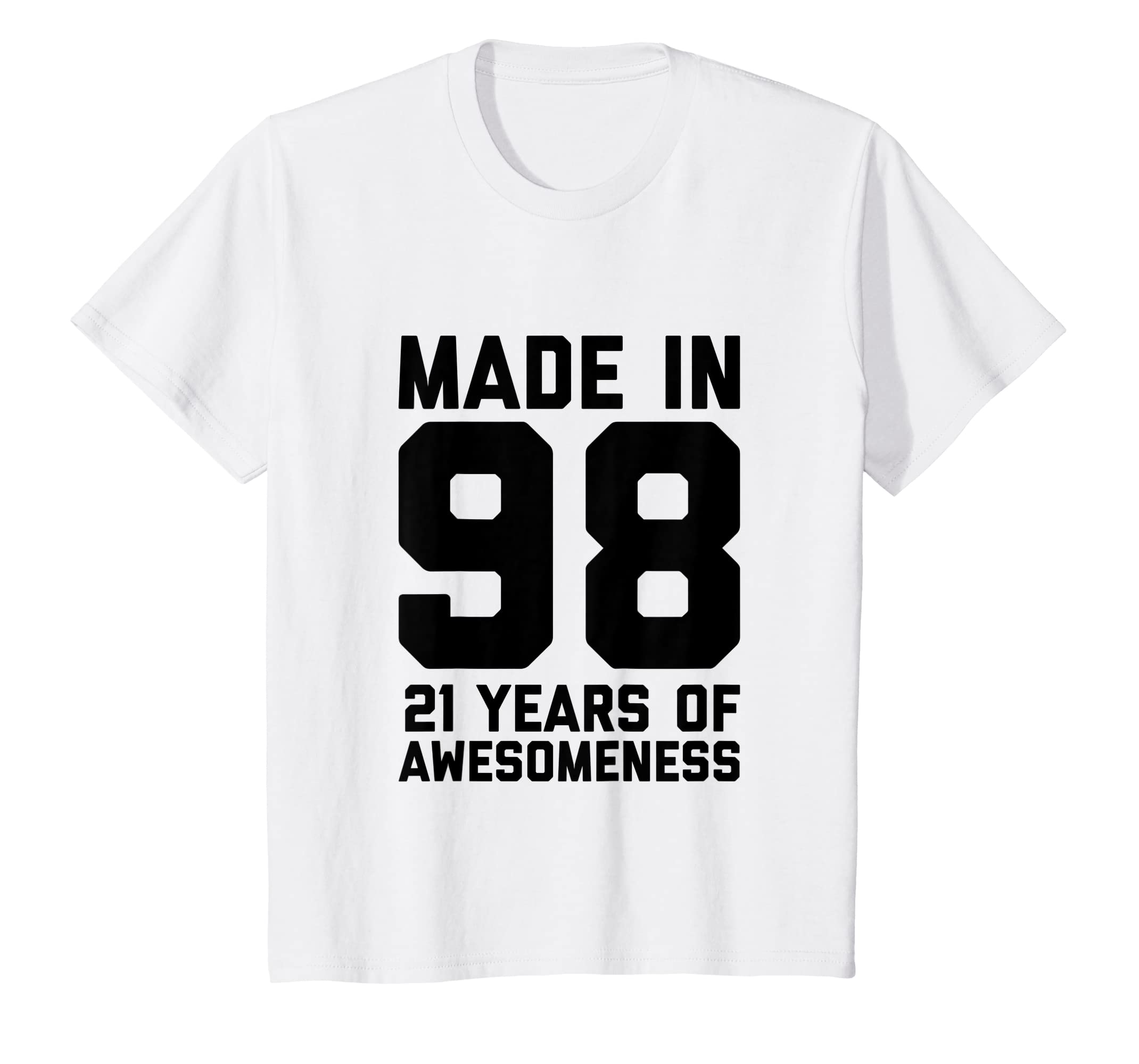 Amazon 21st Birthday Shirt Girls Gifts 21 Year Old Boys Twenty One Clothing