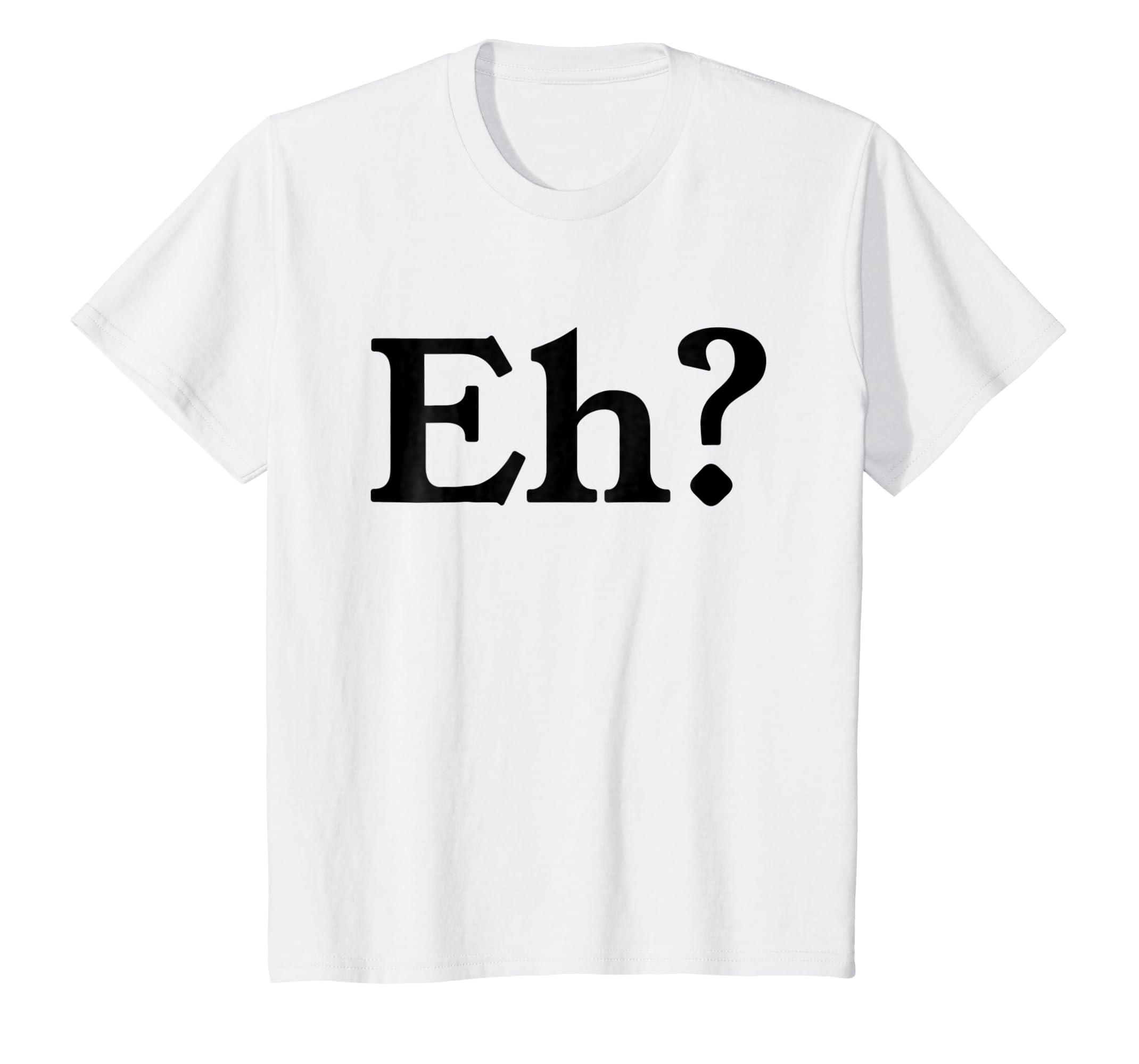 59304d3cb Amazon.com: Eh? Shirt I Speak Fluent Sarcasm T-Shirts Funny AF Humor Tee:  Clothing