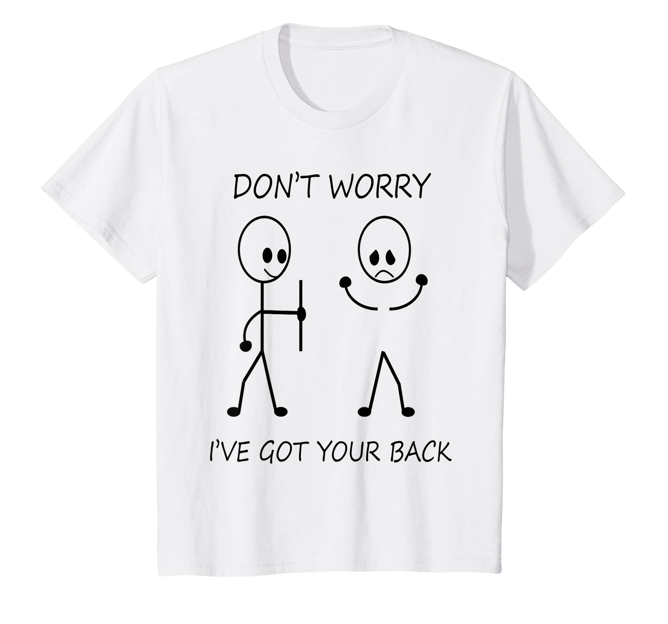 e5c5990a79 Amazon.com: I got your back tshirt for Men and Women funny qoutes.: Clothing