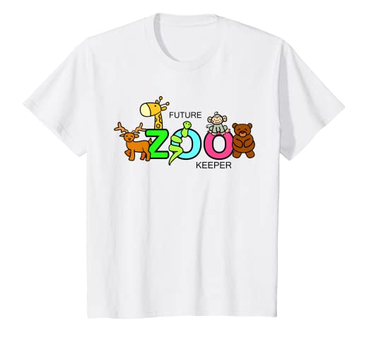 fe04eff7 Amazon.com: Kids FUTURE ZOO KEEPER Costume African Halloween Shirt ...
