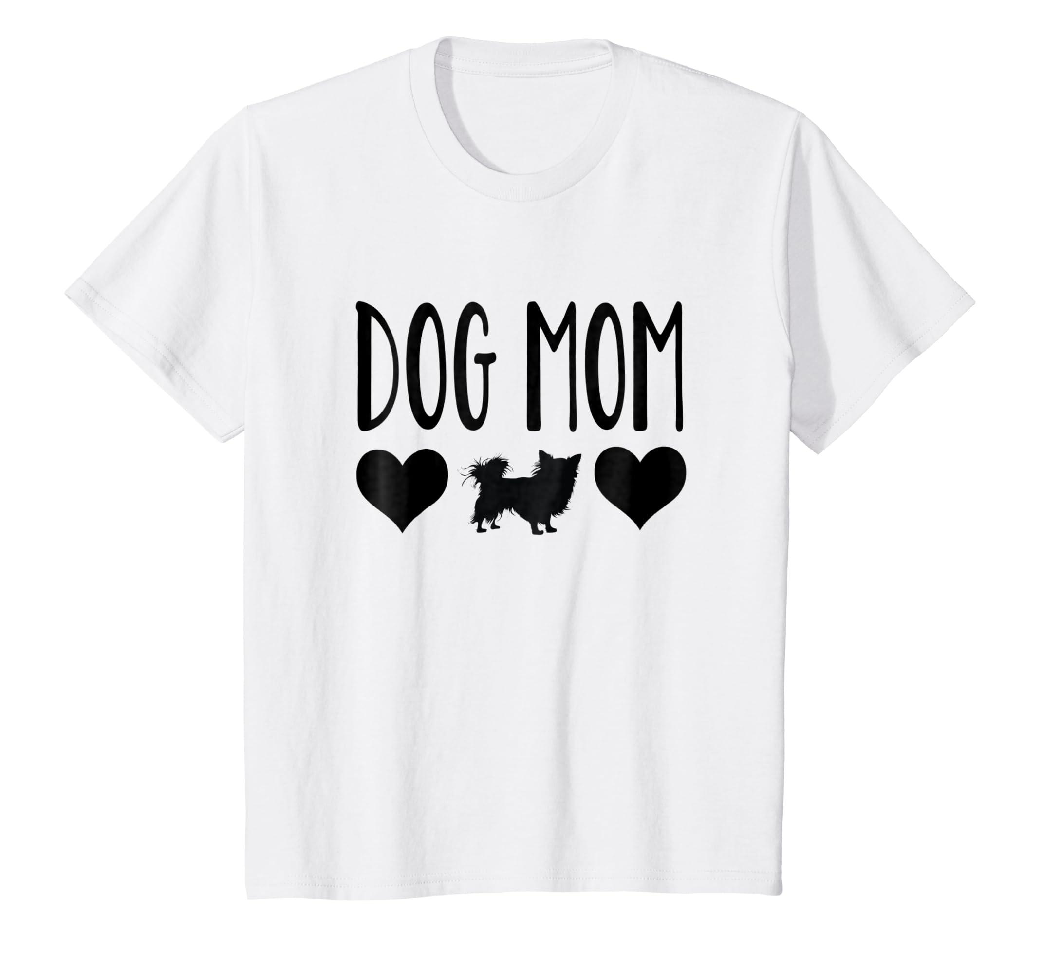 8db717c97 Amazon.com: Chihuahua Dog Mom Shirt, Funny Chihuahua T Shirts, Gifts:  Clothing