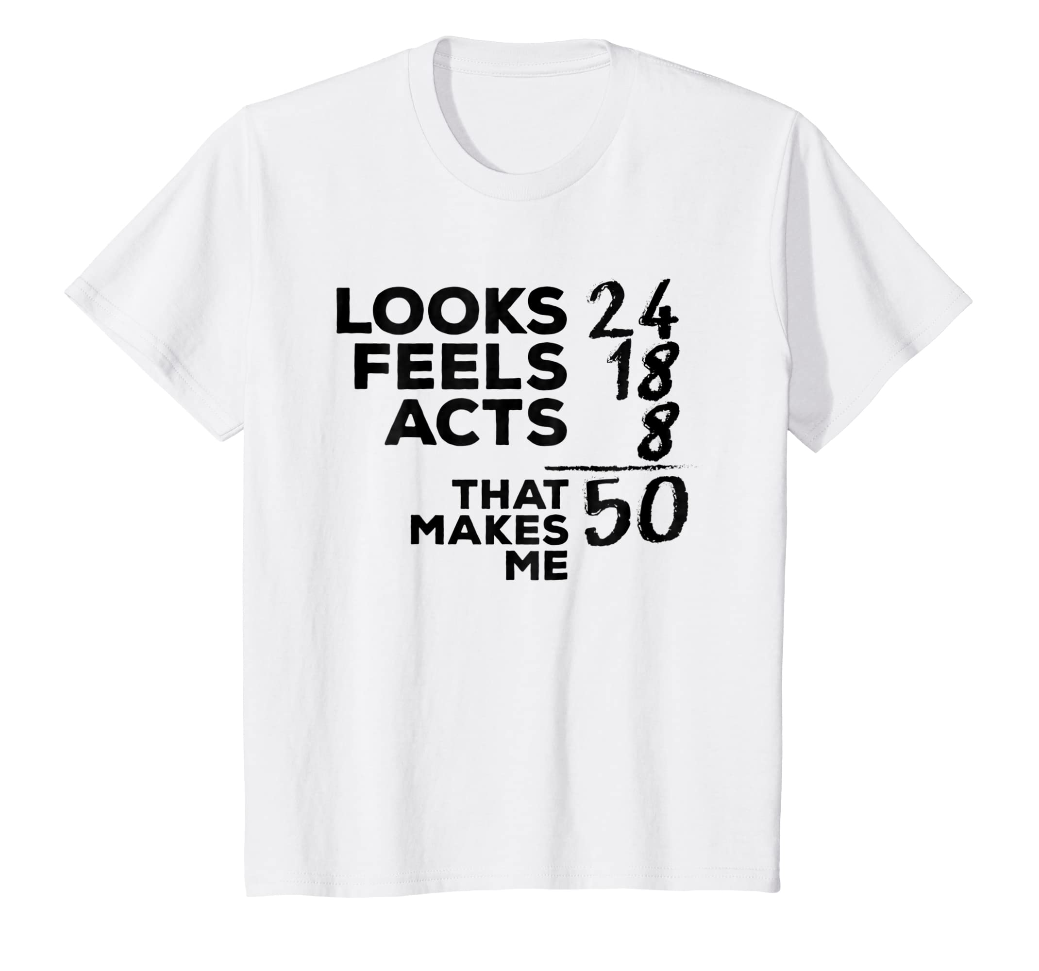Amazon Funny 50th Birthday Shirt 50 Years Old Mom Dad Gift Clothing