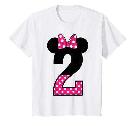 Amazon Kids Im 2 T Shirt Happy Cute Pink 2nd Birthday Polka