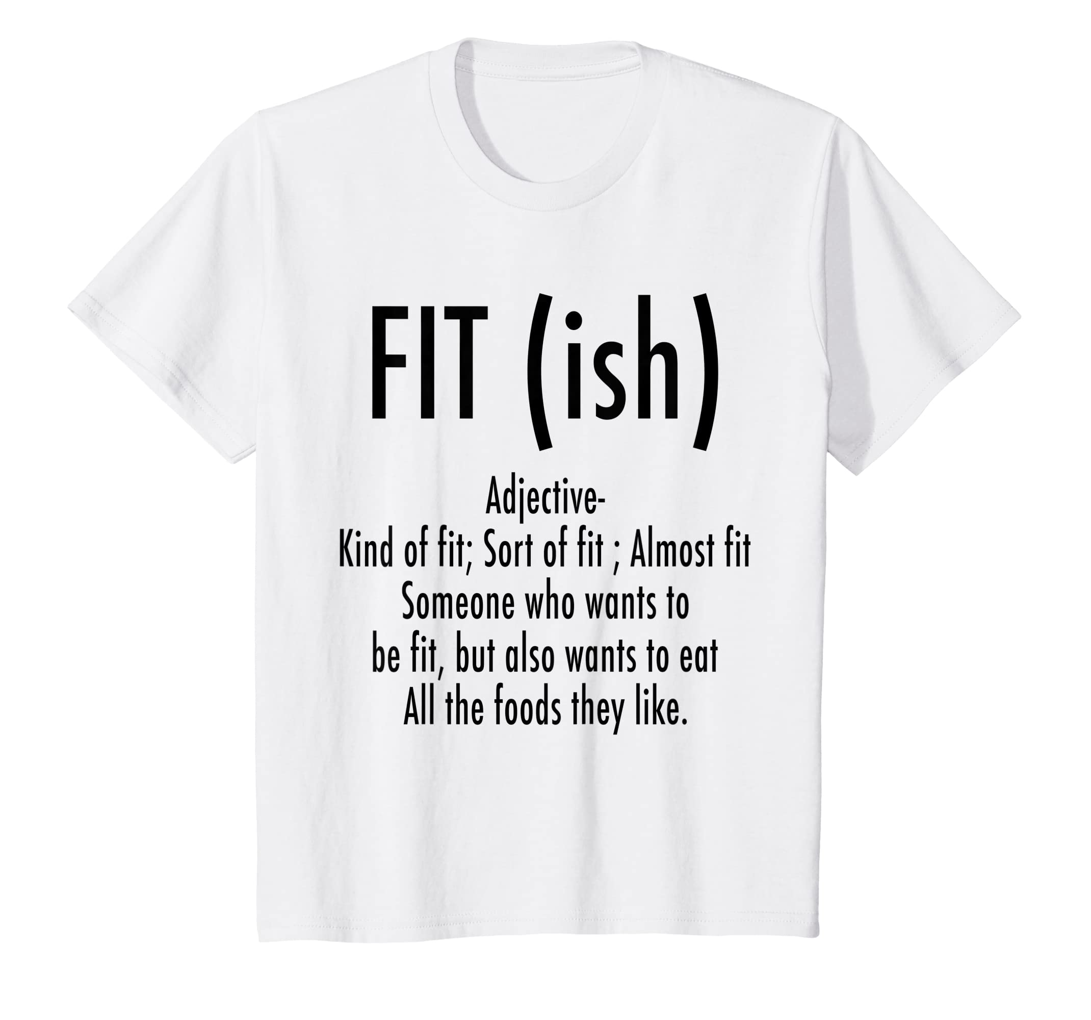 Amazon fit ish word definition funny workout fitness t