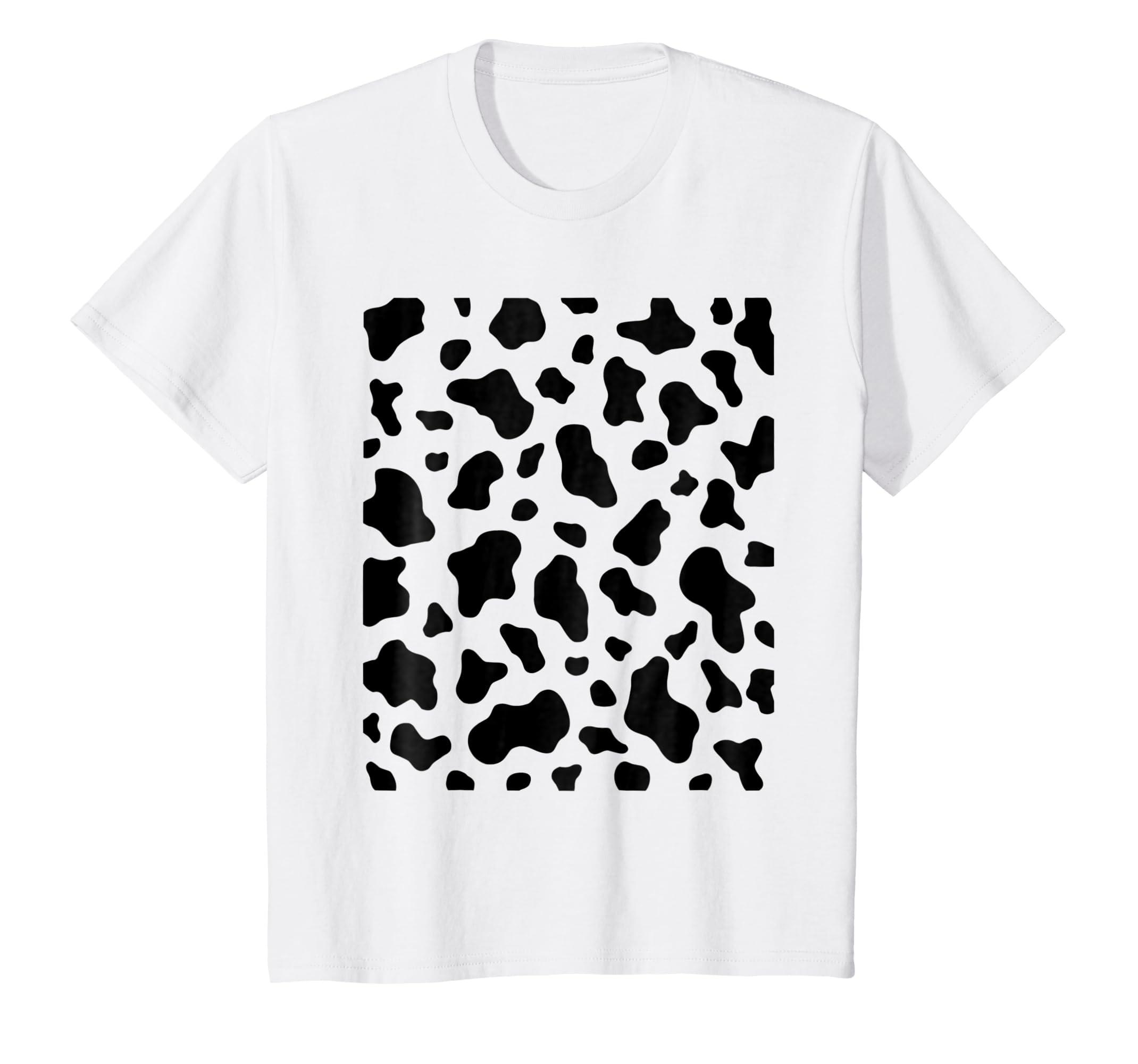 Amazon Cow Print Simple Easy Halloween Costume Idea Tee