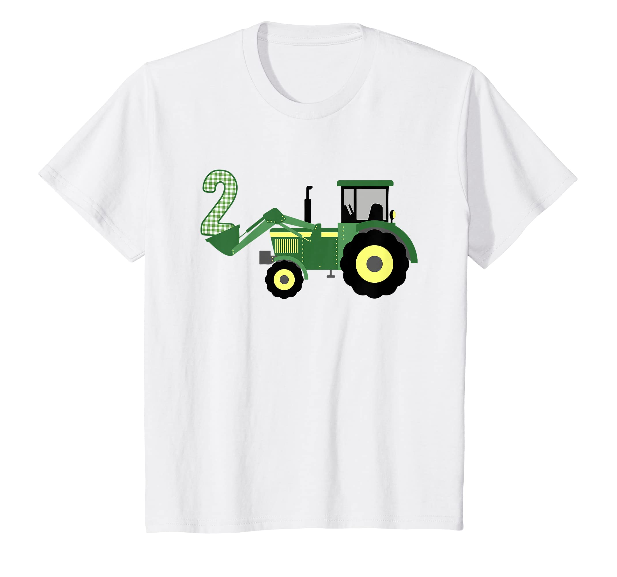 Amazon Kids 2nd Birthday Tractor T Shirt 2 Year Old Clothing