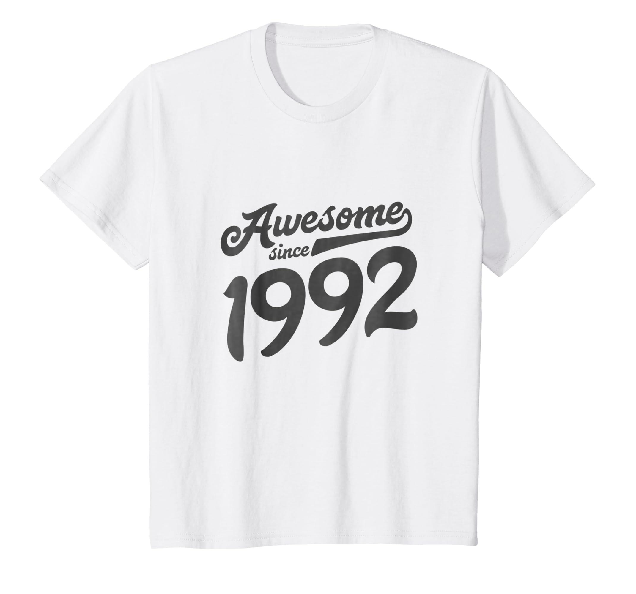 Amazon 27th Birthday Shirt Gift Age 27 Year Men Women Son Daughter Clothing