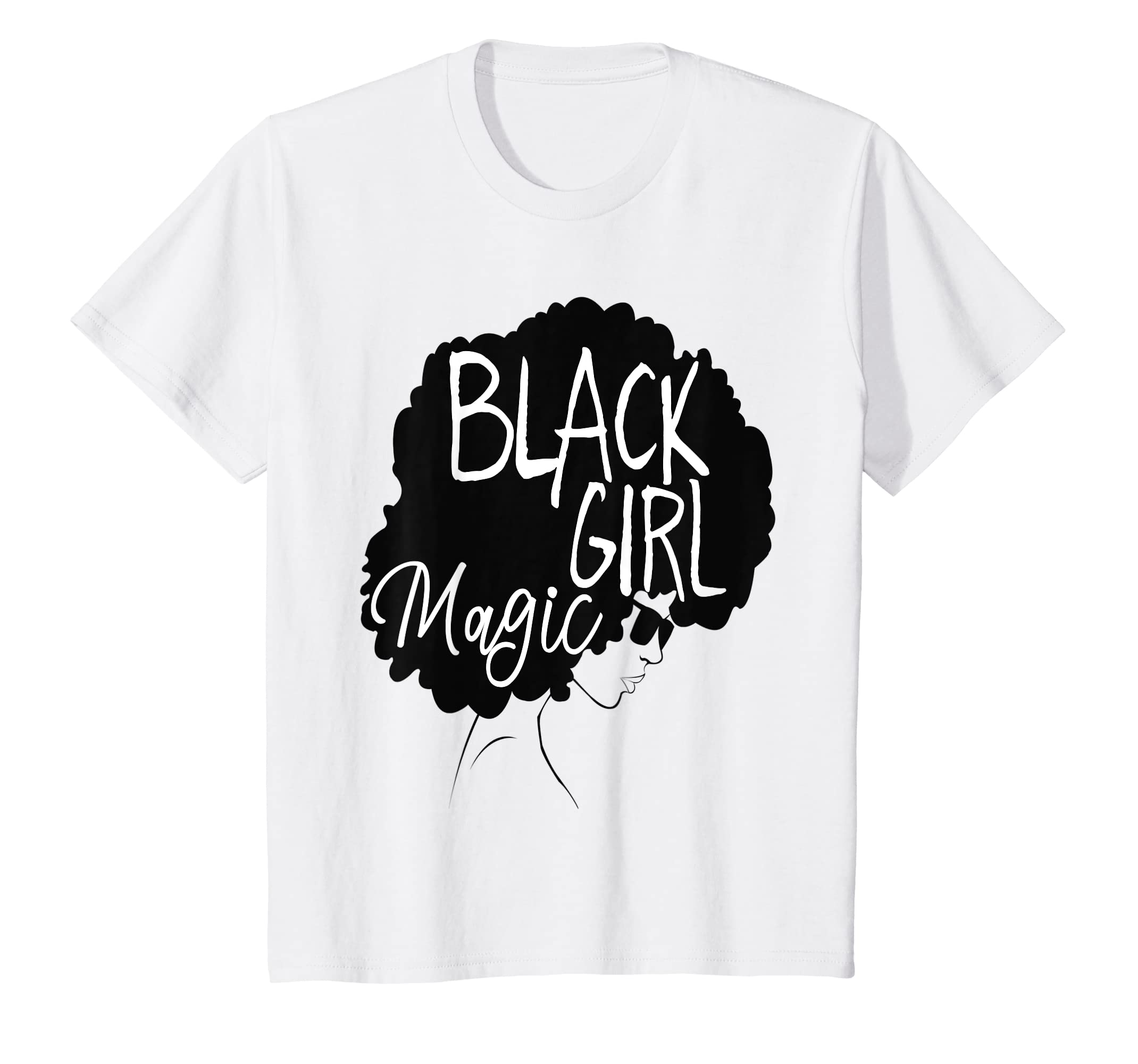 7af995235 Amazon.com: Black Girl Magic Shirt Afro Diva African American Woman:  Clothing
