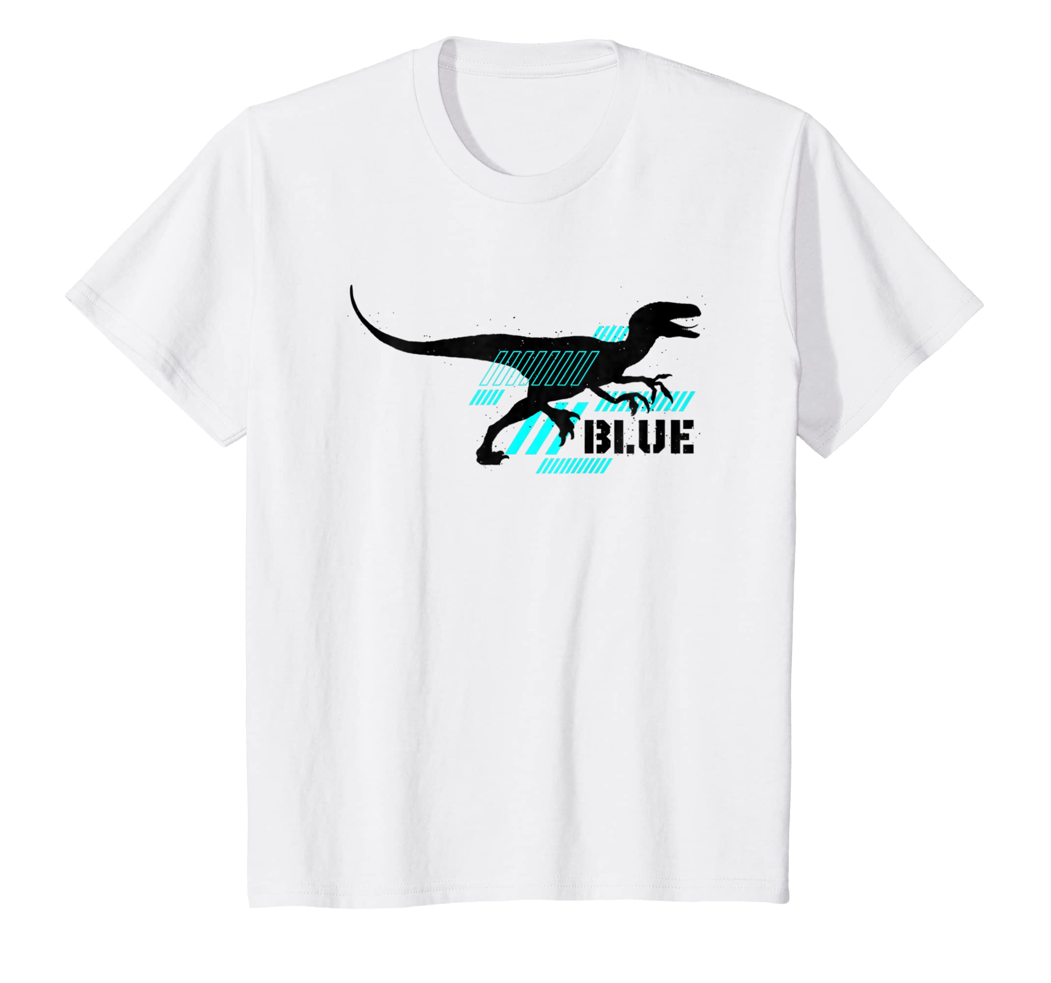 a463bff0b17 Amazon.com: Kids Jurassic World Fallen Kingdom: Blue T-Shirt: Clothing