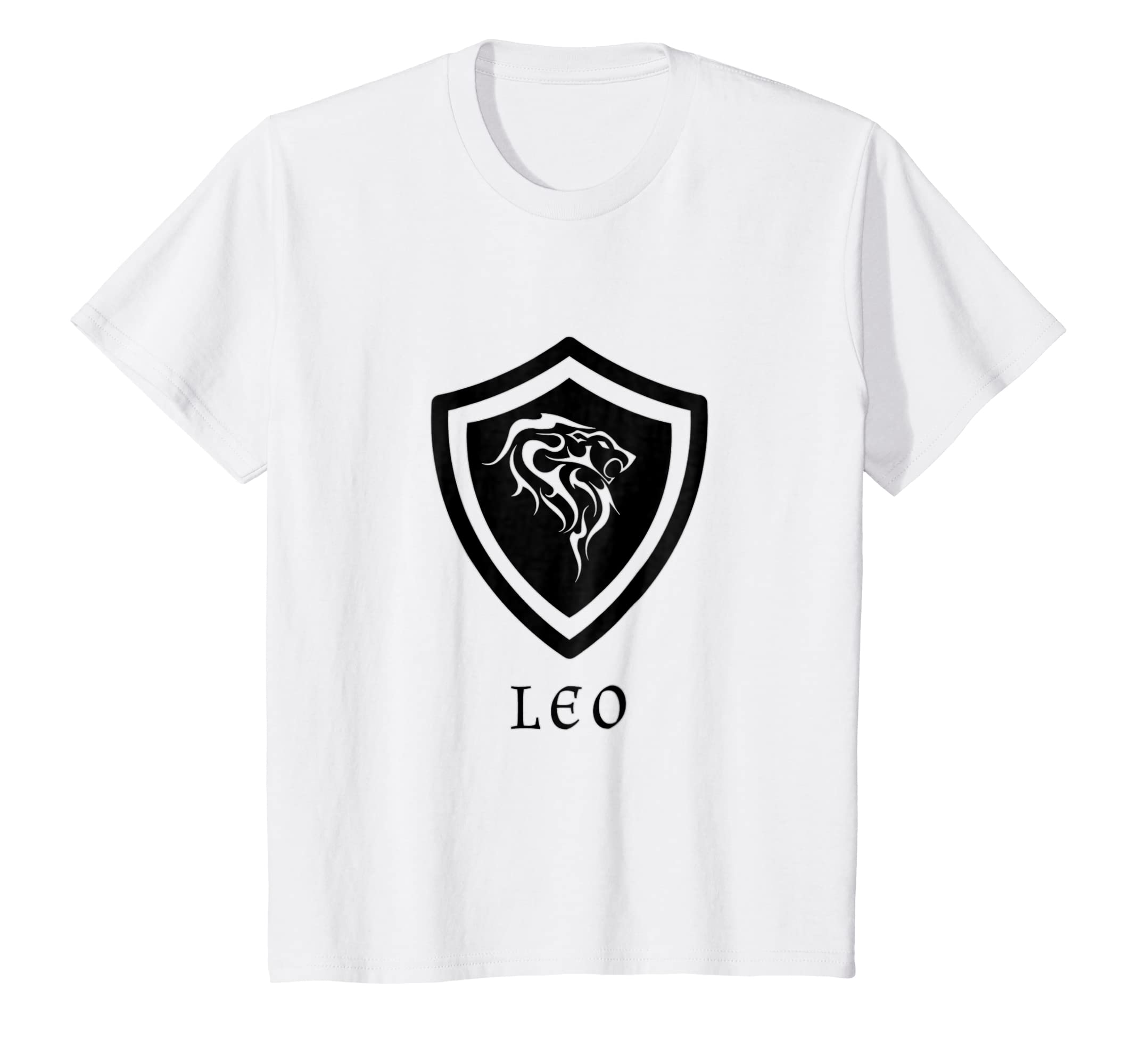 Amazon Leo Tribal Birthday Zodiac Gift T Shirt Men Women Kids Clothing