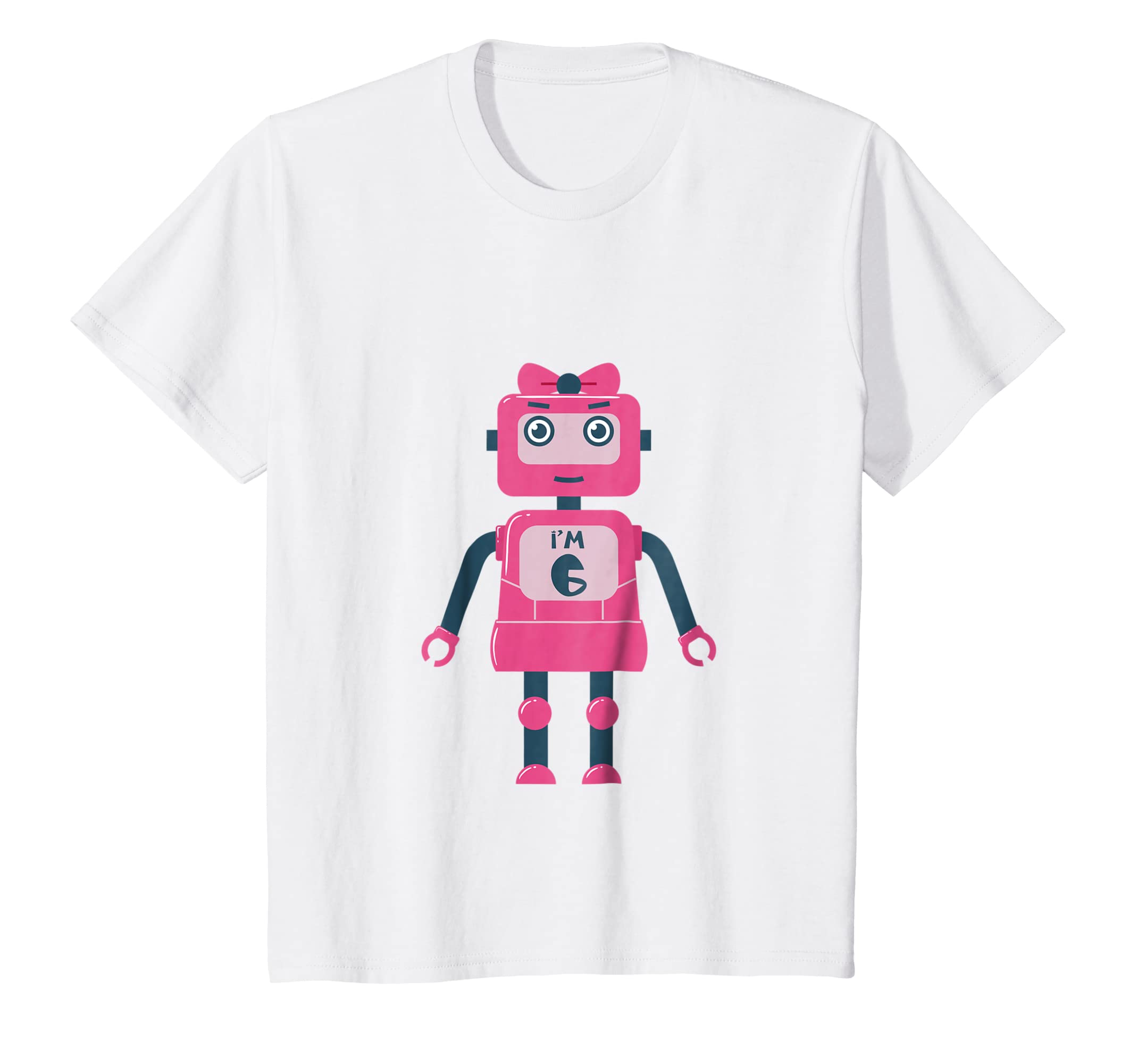 Amazon 6th Birthday Shirt Girls Gift Six 6 Year Old Daughter
