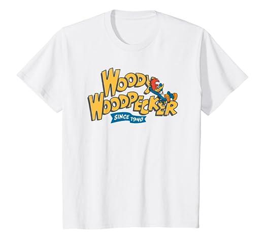 Amazon com: Kids Woody Woodpecker Since 1940 Classic t-shirt