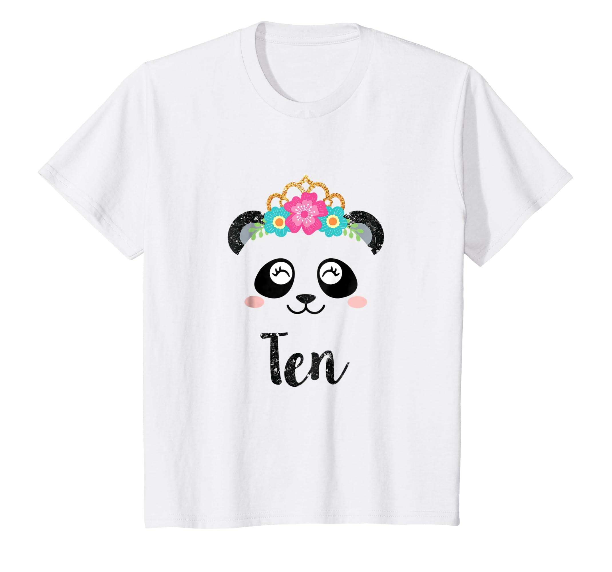3a76e0fb8 Amazon.com  Panda Girl 10th Birthday Outfit