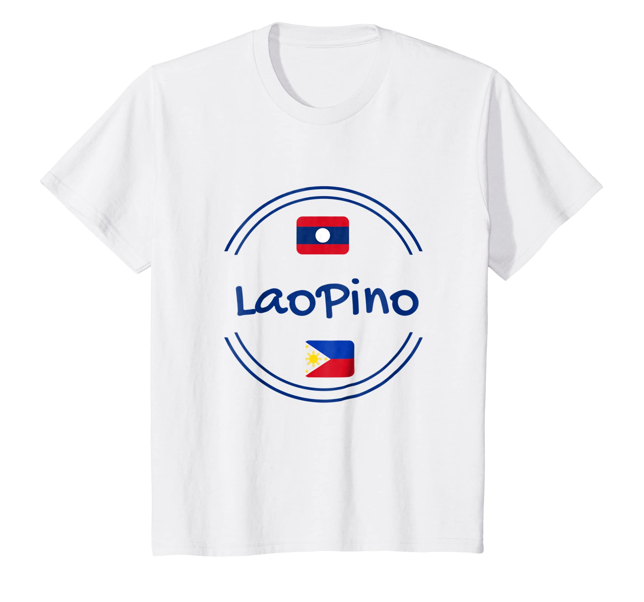 Amazon Laopino With Laos And Philippine Flag Cool Design T