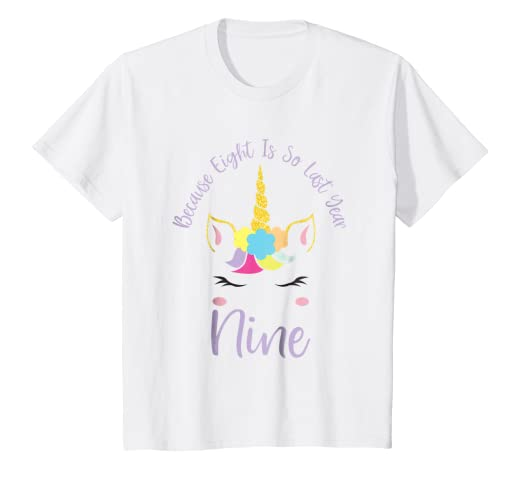 Image Unavailable Not Available For Color Kids Unicorn Happy Birthday Shirt