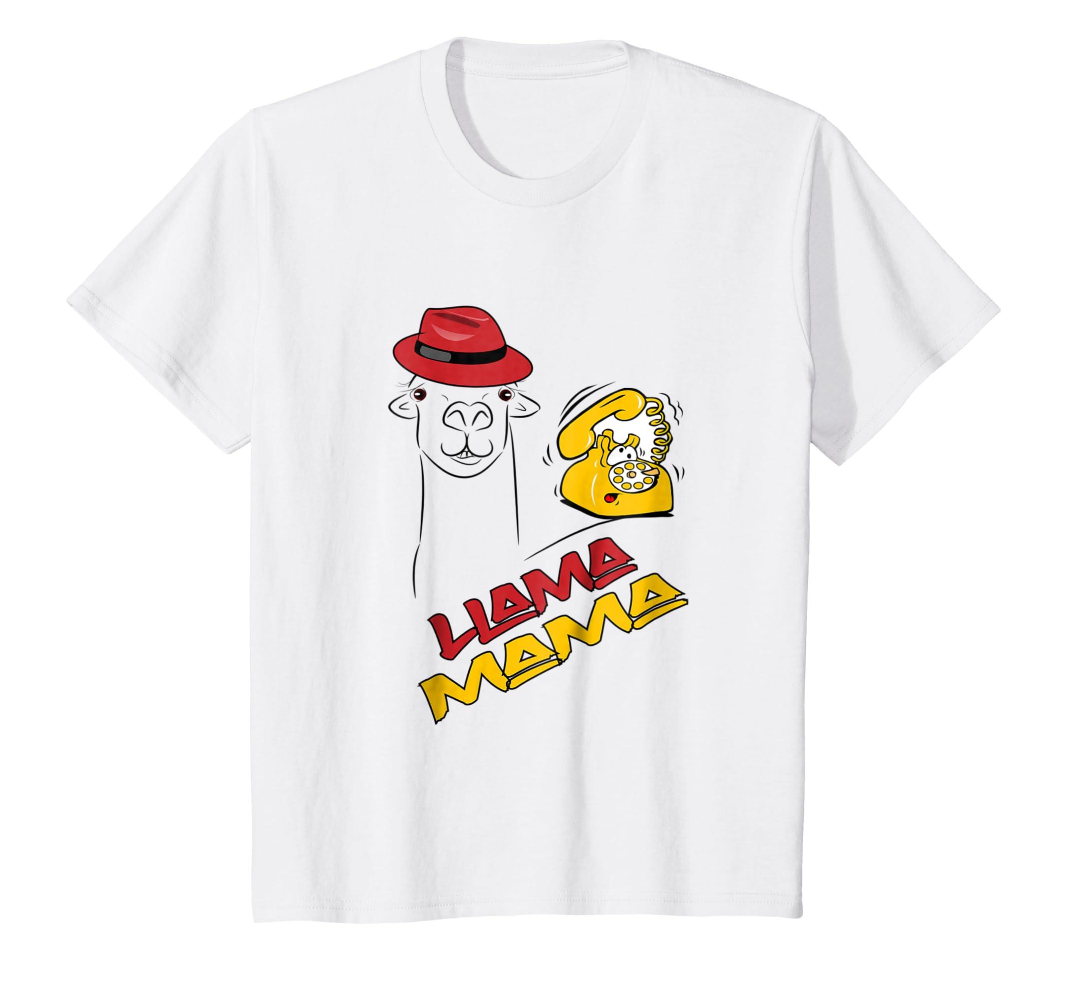 Amazon.com: Llama Mama Shirt Funny Gifts Animal Lover Mommy Mom Mum: Clothing