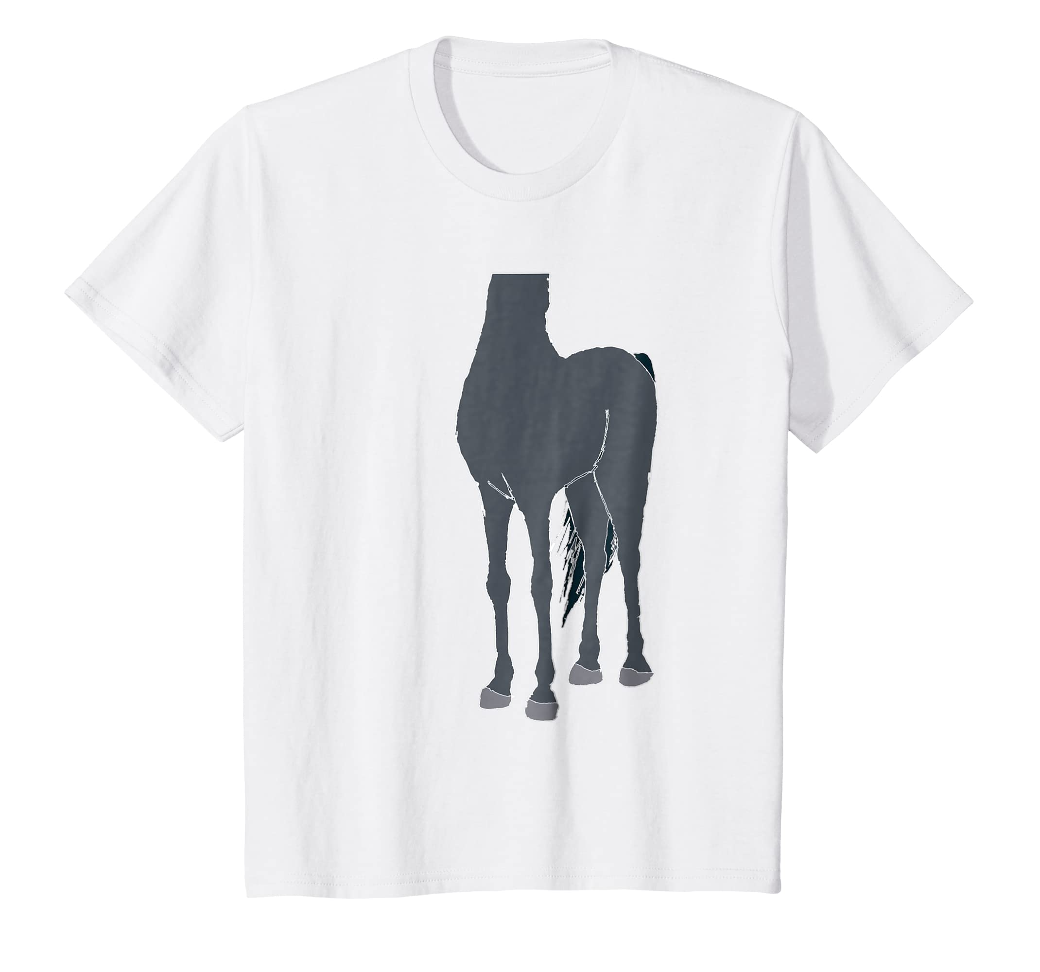 Amazon Halloween Horse Body Costume Shirt For Kids Clothing