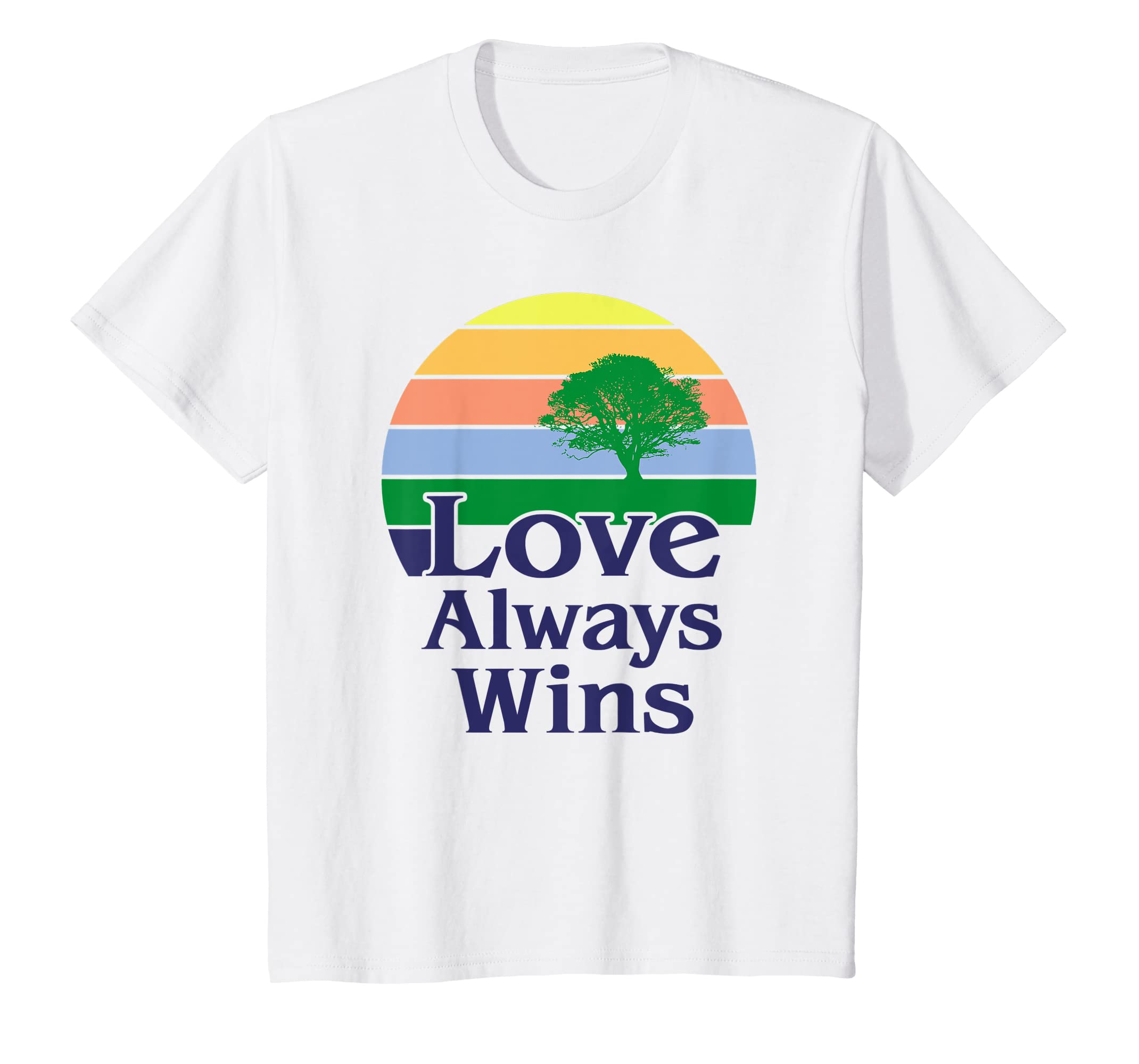 Amazon Com Gay Pride Rainbow T Shirts Love Always Wins Equality