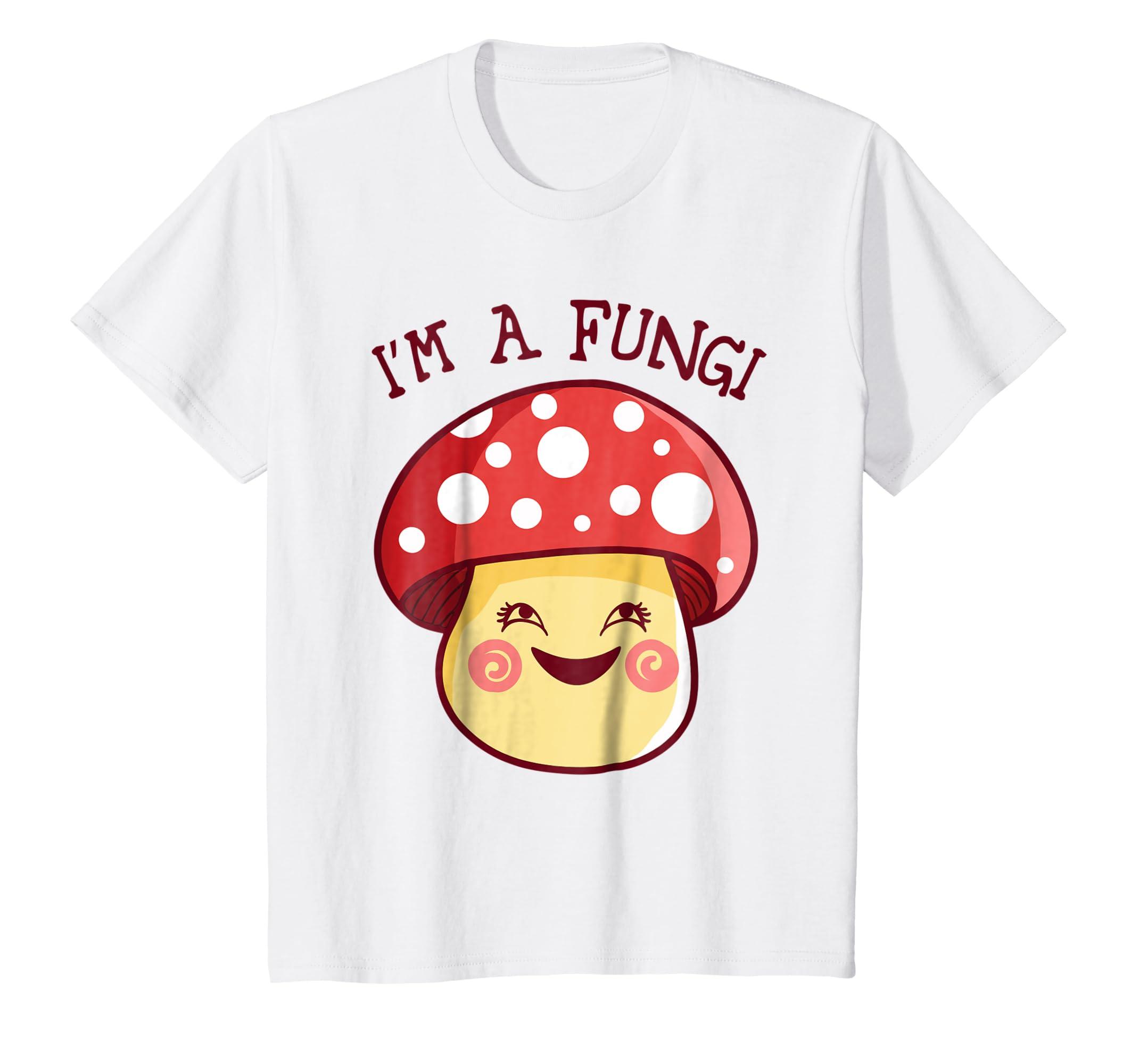 94c9bfd6 Amazon.com: I'm a Fungi T Shirt Mushroom Fun Guy Pun Funny Party Shirt:  Clothing