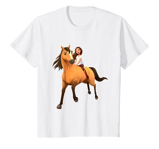 32a2d347416f Amazon.com: Kids DreamWorks Spirit Riding Free - Lucky & Spirit T ...