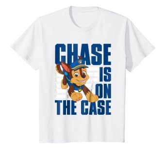 4e812804 Image Unavailable. Image not available for. Color: Kids PAW Patrol on the Chase  T-shirt