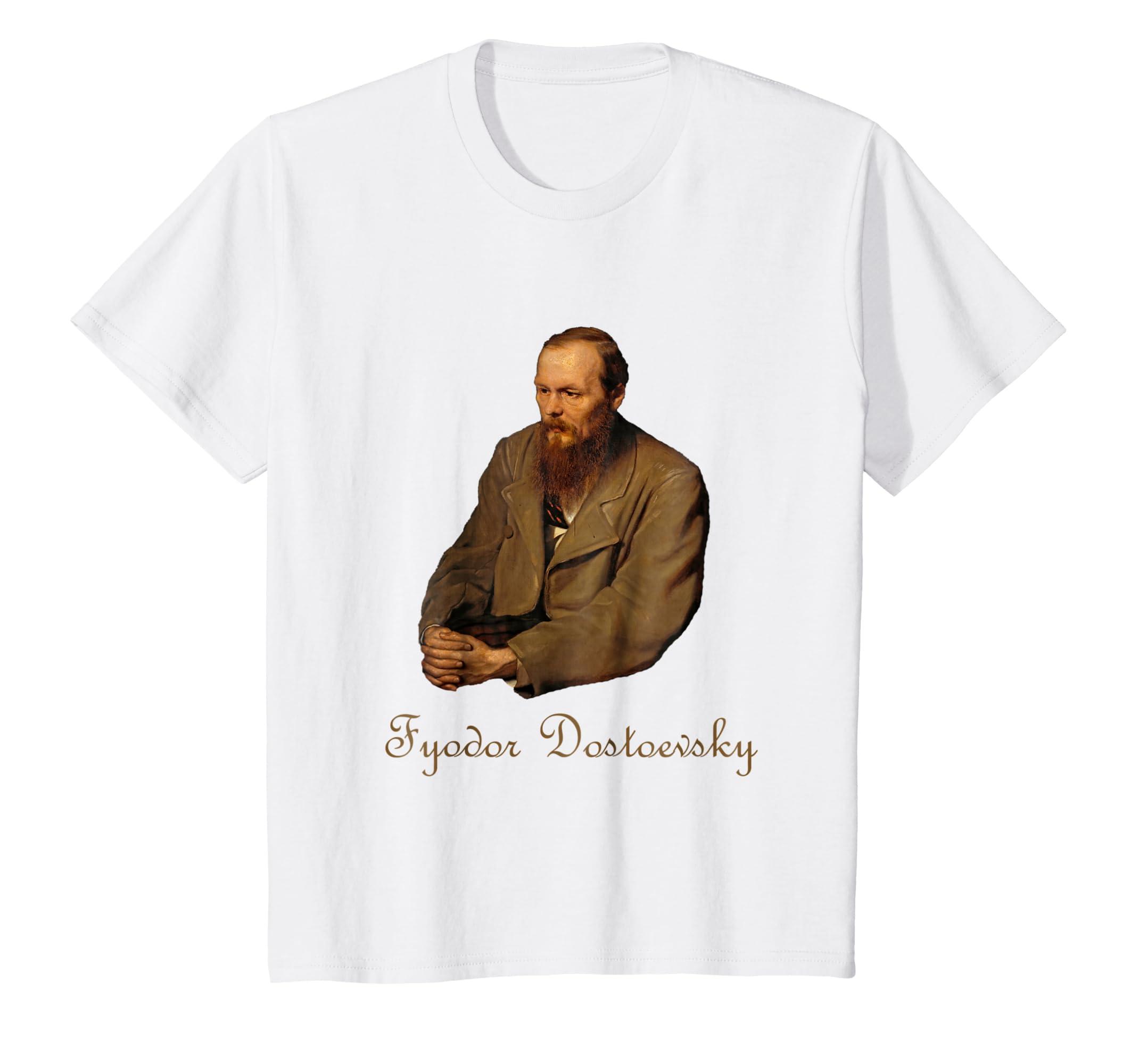 Fyodor Mikhailovich Dostoevsky T Shirt-Awarplus