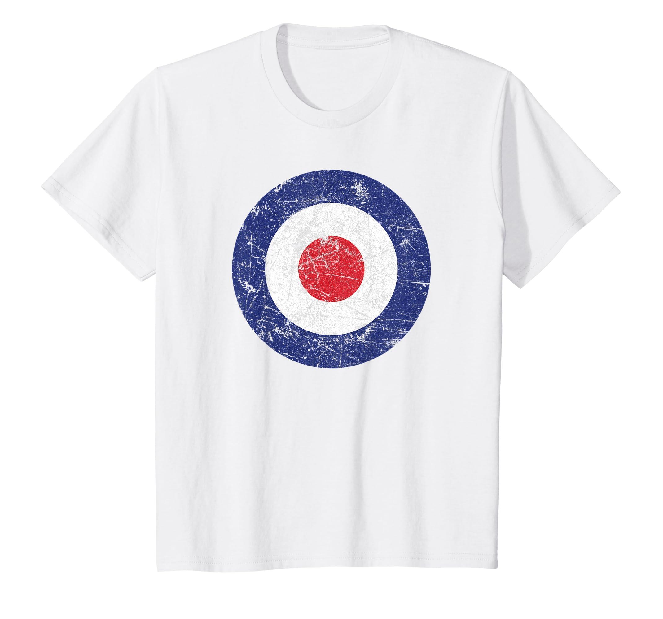 sports shoes dce6e d2b2a Distressed Target Bullseye British RAF Roundel T-Shirt
