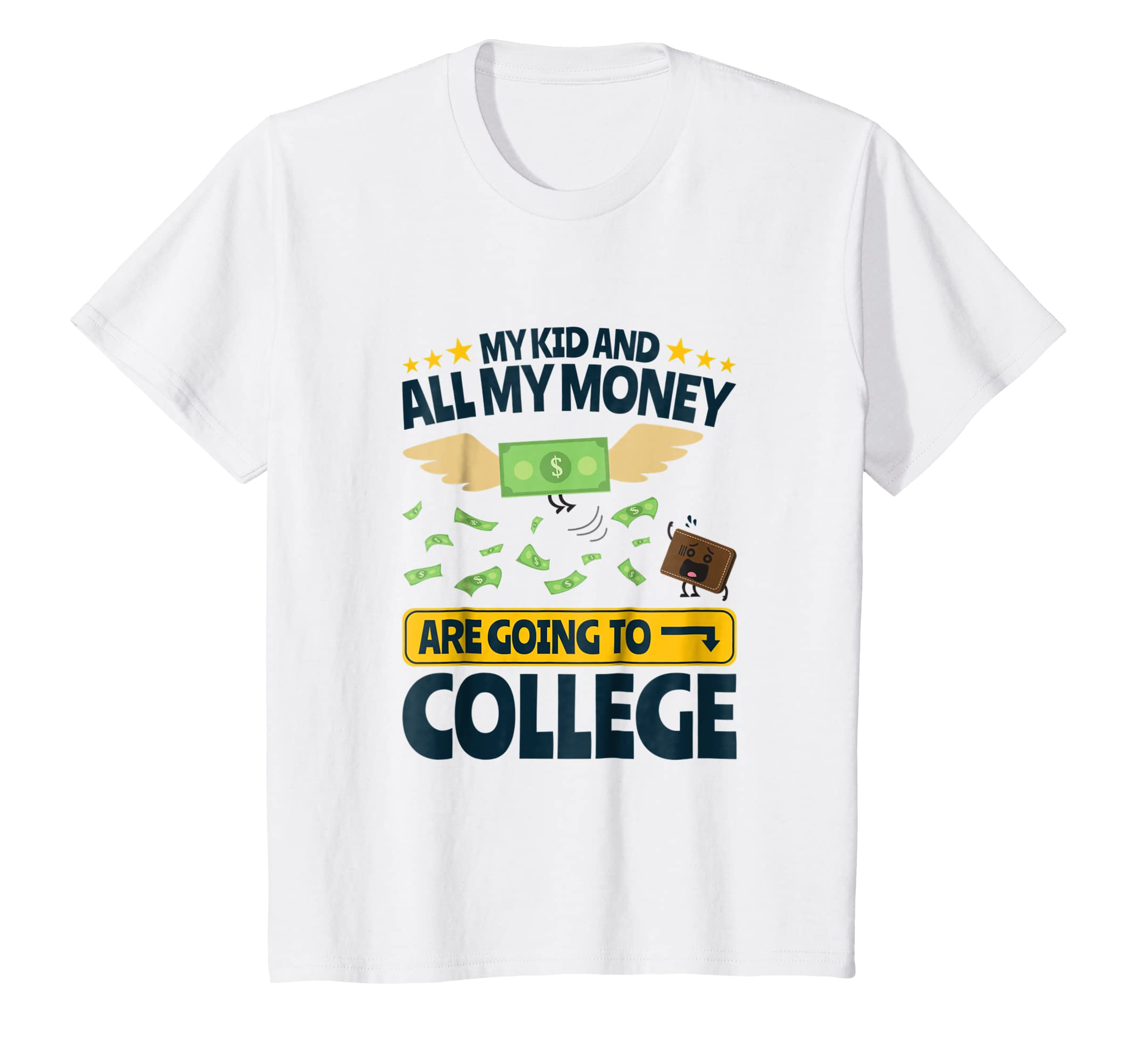 Amazoncom College Dad Shirt Funny Money Quote Clothing .