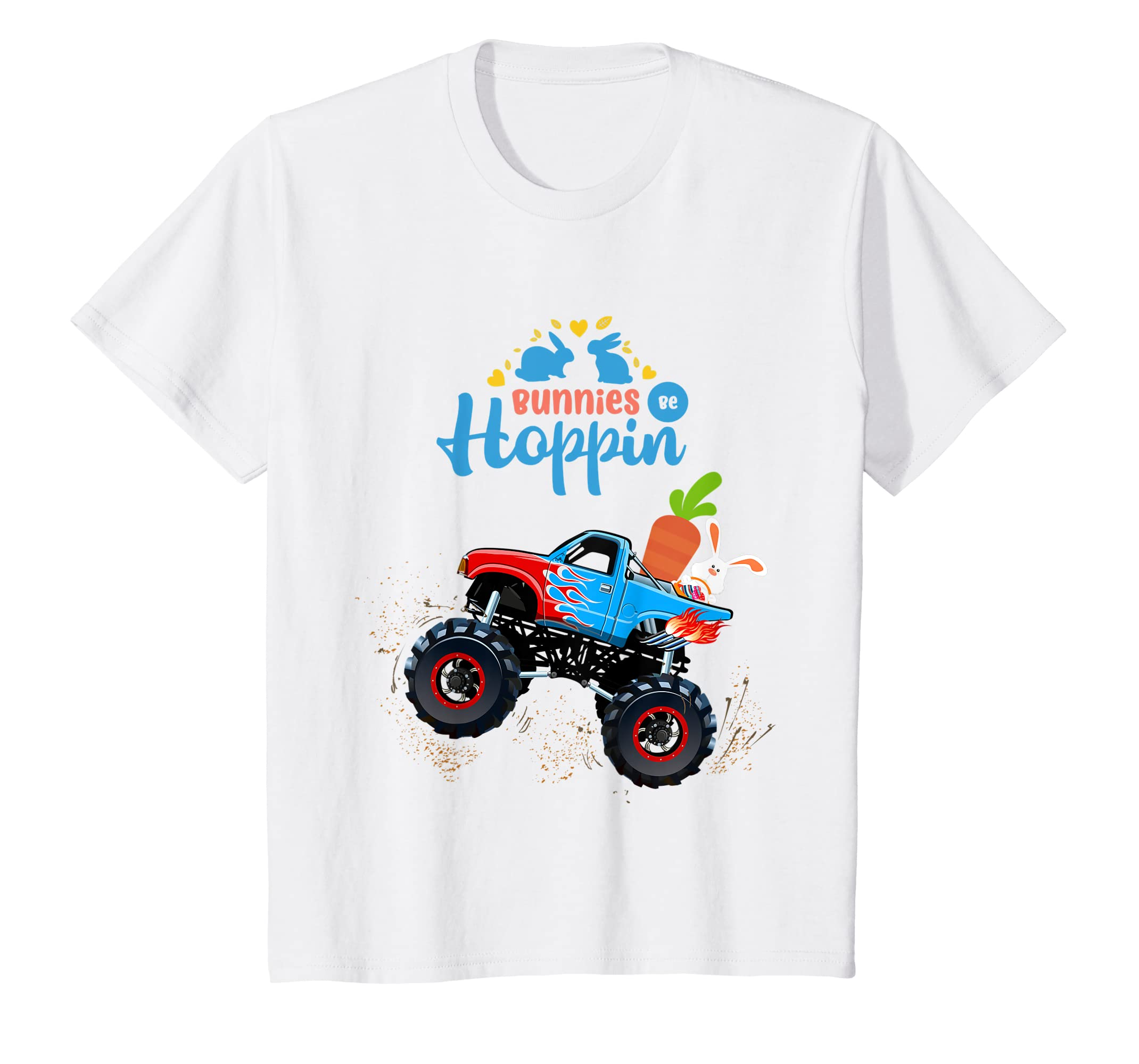 2e1e5d39 ... com kids easter bunny rabbit monster truck shirt toddler boy ...