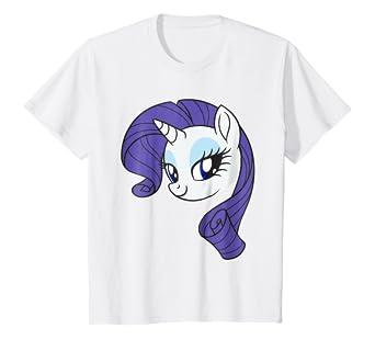 Amazoncom Kids My Little Pony Rarity Large Character T Shirt Clothing