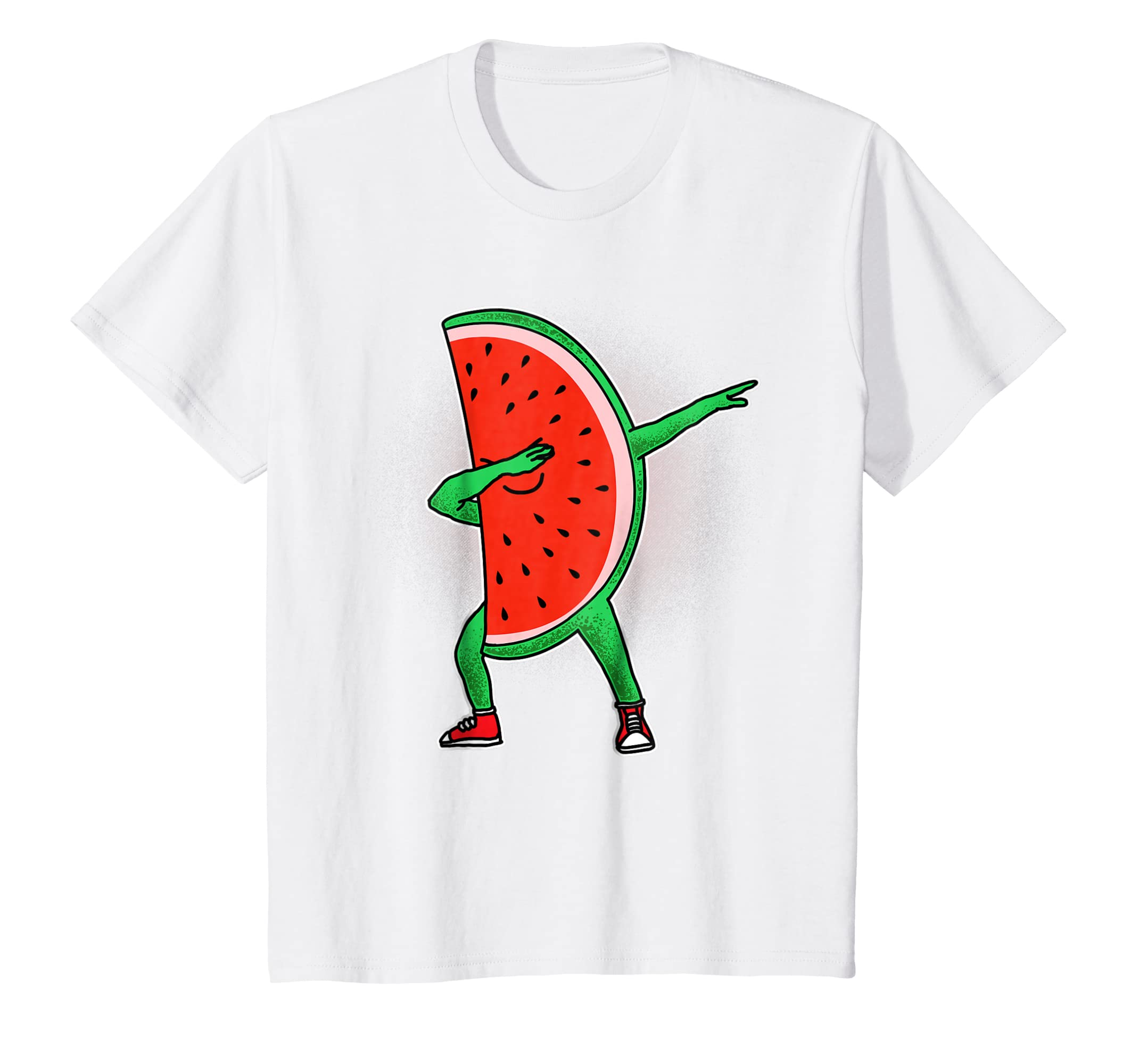 77e1f69eb Amazon.com: Funny Dabbing Watermelon Dab Shirt: Clothing