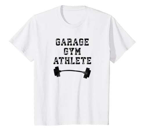 Amazon garage gym box workout t shirt fitness athlete lifting